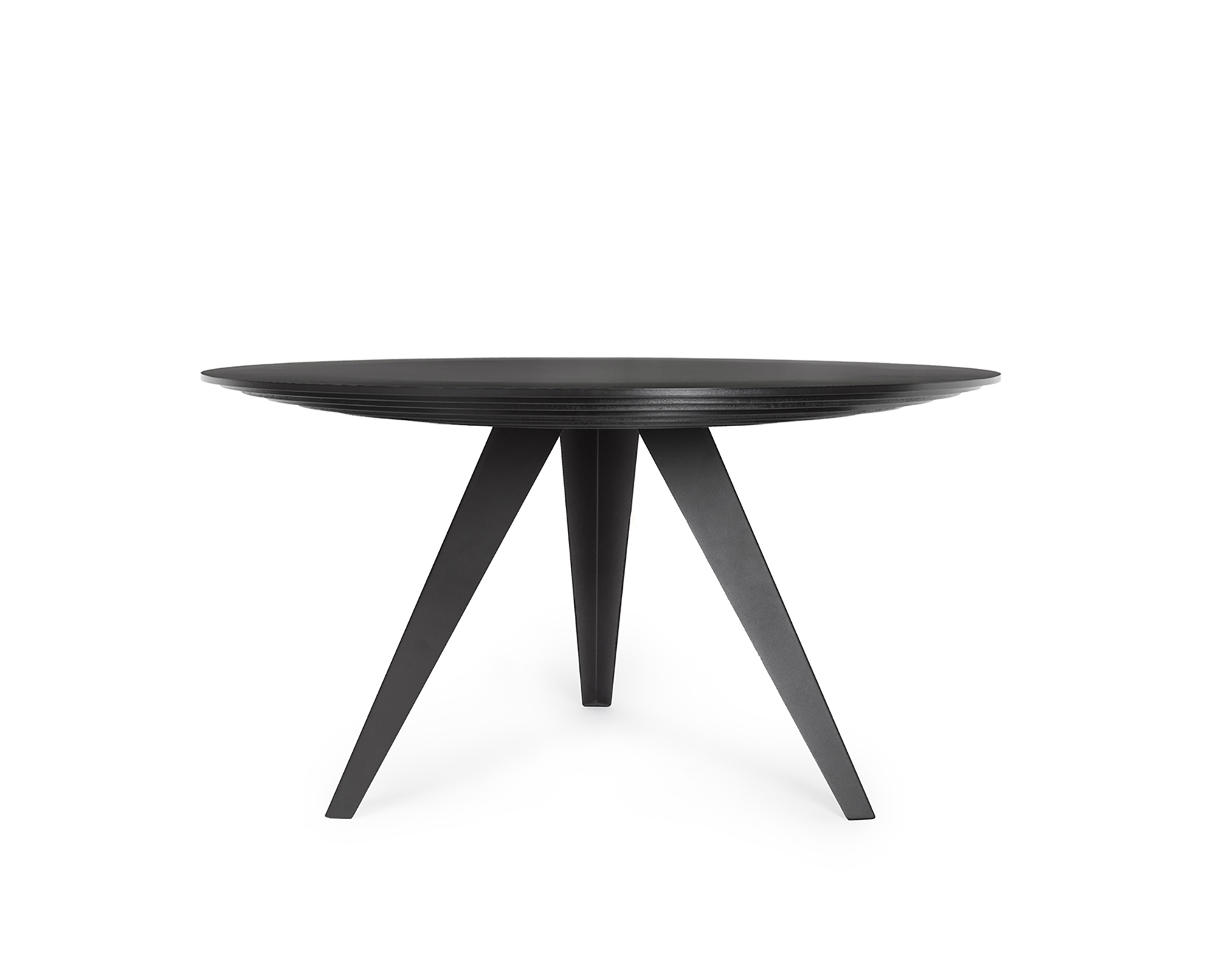 Eettafels Rond Modern.Round Dining Table Belly L Kees Marcelis L Odesi Your Dutch Design