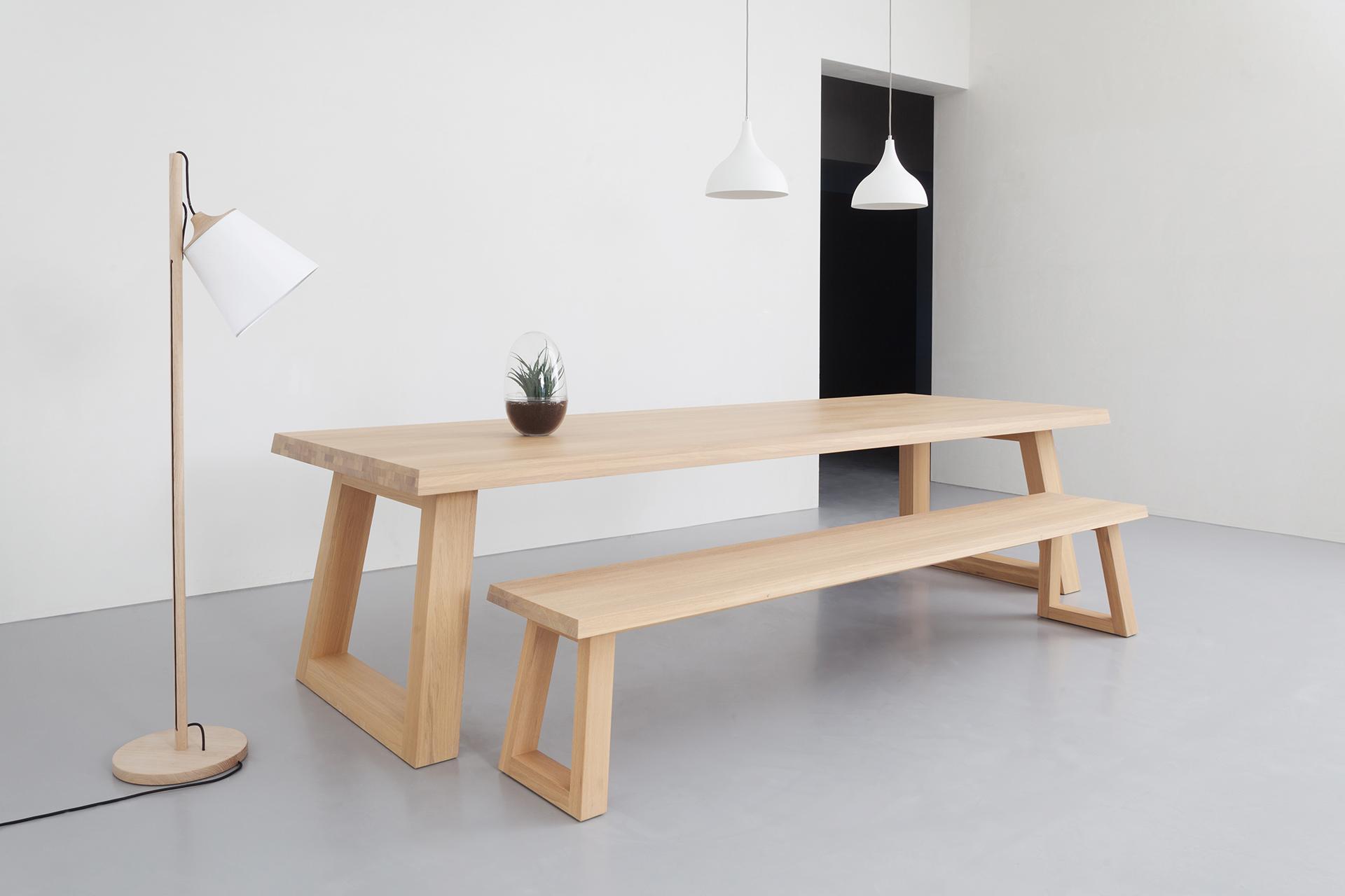 Design Eettafel Bank.Design Dining Table Slide L Remy Meijers L Odesi Your Dutch Design