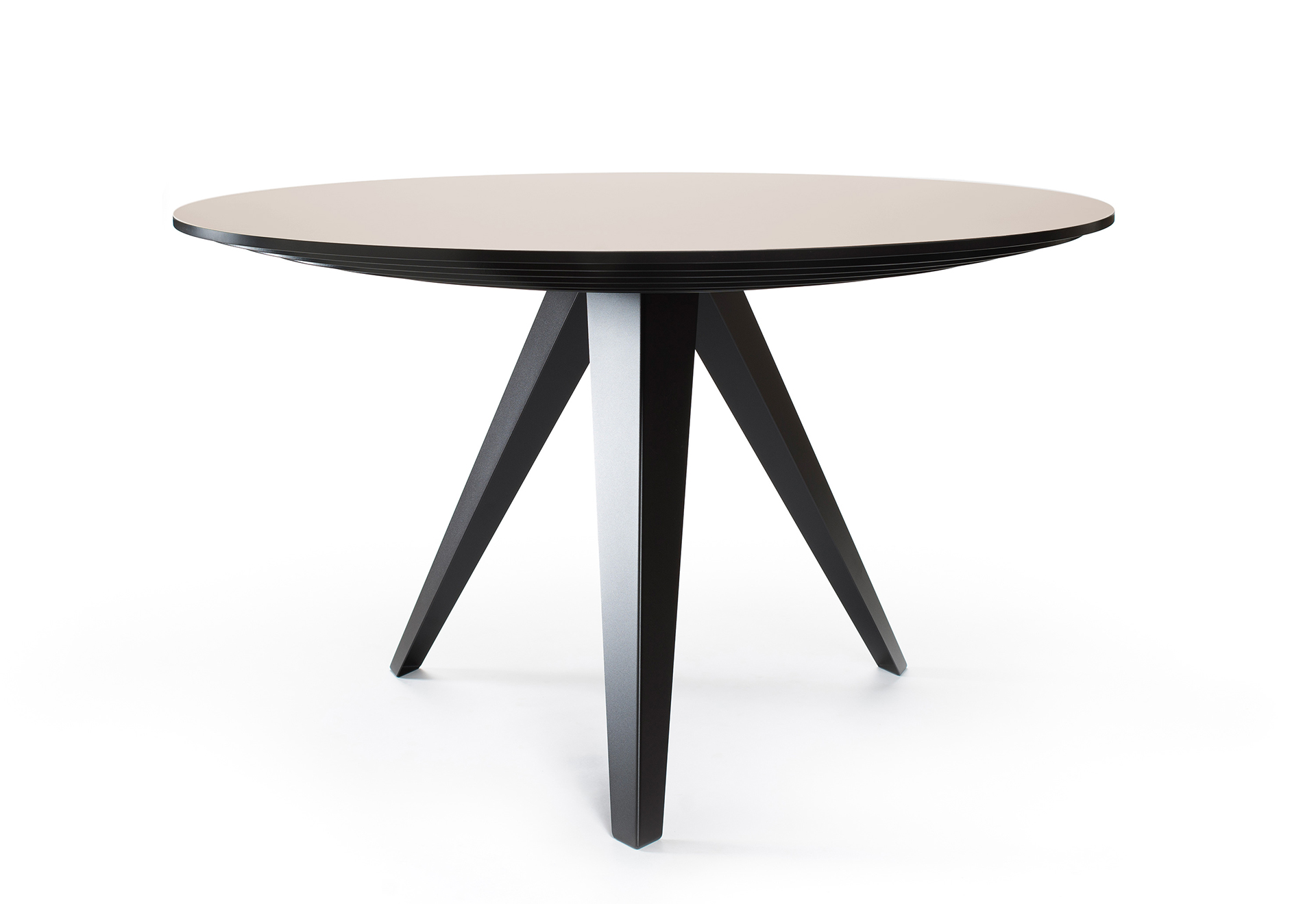 Table Ronde 130 Cm.Round Dining Table Belly L Kees Marcelis L Odesi Your Dutch Design