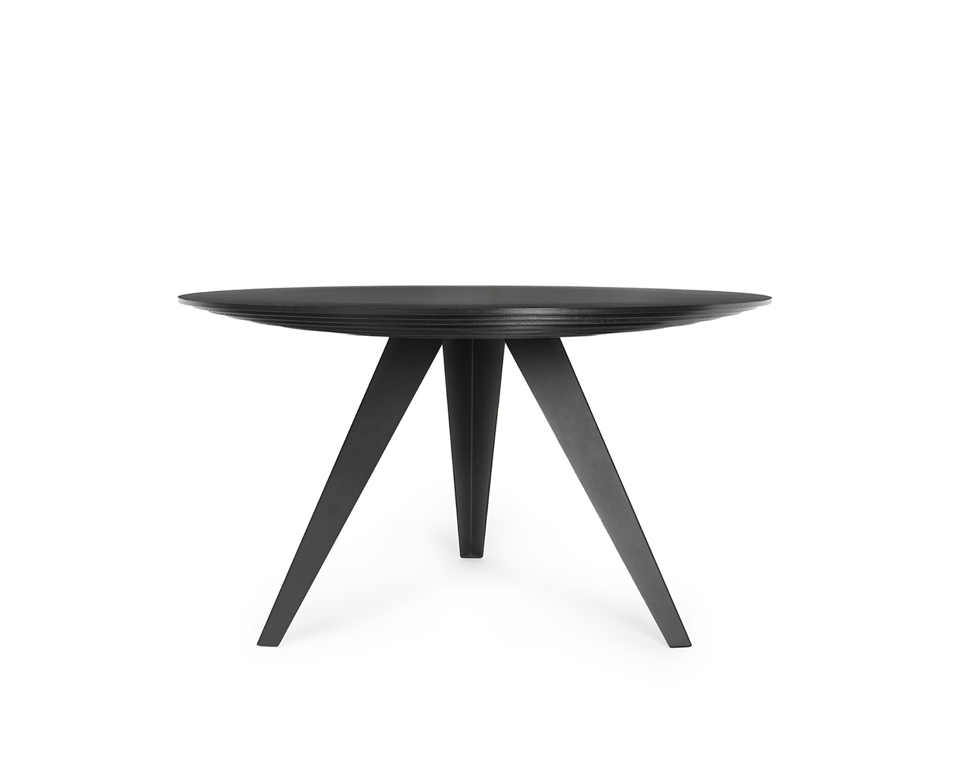 Grote Smalle Sidetable.Round Dining Table Belly L Kees Marcelis L Odesi Your Dutch Design