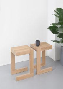 Bijzettafel hout design