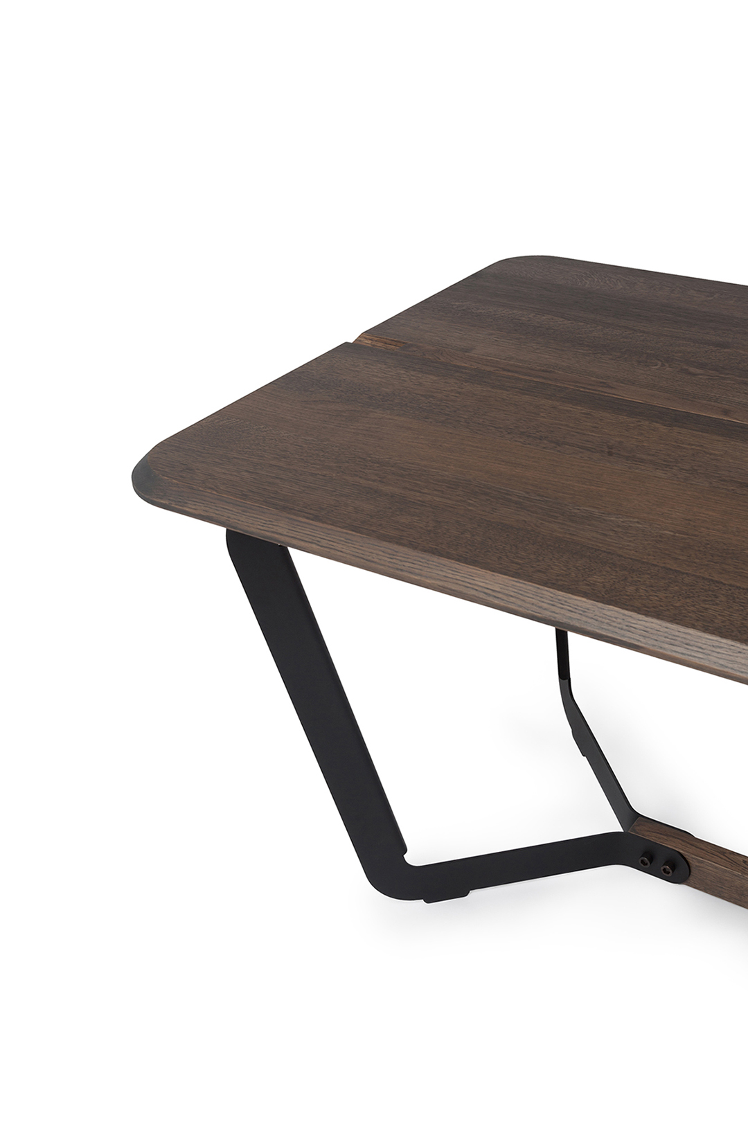 Side Table Donker Hout.Design Dining Table Stringer L Bas Vellekoop L Odesi Your Dutch Design
